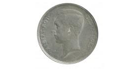 Belgique - 2 francs légende francaise Albert Ier 1911