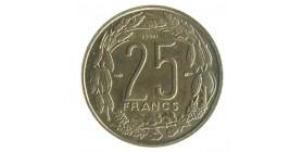 25 Francs Afrique Equatoriale - AEF - Cameroun