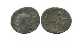 Antoninien D'auréolus pour Postume Empire Romain