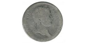 1 Franc Napoleon Ier Tête Laurée Revers Empire - Premier Empire 1811 B