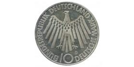 10 Marks Spirale Allemagne Argent