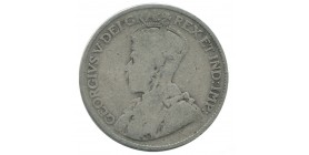 25 Cents Canada Argent