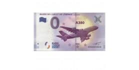 0 Euro Musée de l'air et de l'espace (2) Le Bourget A380 2017