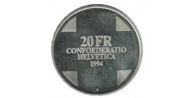 20 Francs Suisse Argent - Confederation