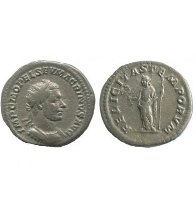 Antoninien de Macrin Empire Romain