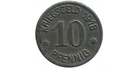 Coblenz- 10 Pfennig Allemagne - Monnaie de Necessite