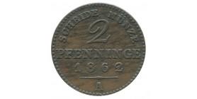 2 Pfennig Allemagne - Prusse