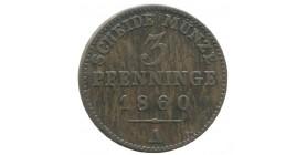 3 Pfennig Allemagne - Prusse