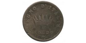1 Soldo Napoléon Impérator Italie Occupation Francaise