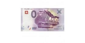 0 Euro Villars 150 ans 2017