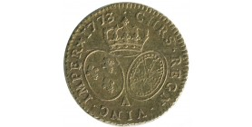 Louis XV - Louis d'or à la vieille tête