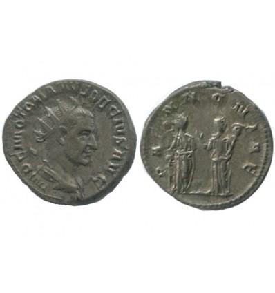 Antoninien de Trajan Dèce Empire Romain
