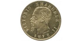 20 Lires Victor Emmanuel II - Italie