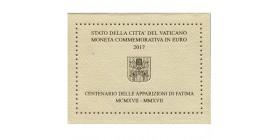2 Euros Commémoratives Vatican  2017
