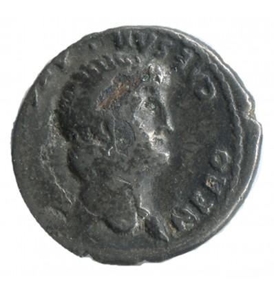 Denier fourré de Néron Empire Romain