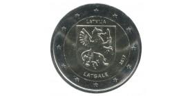 2 Euros commémoratives Lettonie 2017 - Région de Latgale