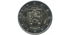 2 Euros commémoratives Lettonie 2017 - Région de Kurzeme