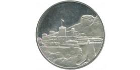 Monaco - Médaille Argent 25 ans de règne Rainier III 1949-1974
