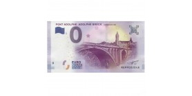 0 Euro Pont Adolphe - Luxembourg - 2017