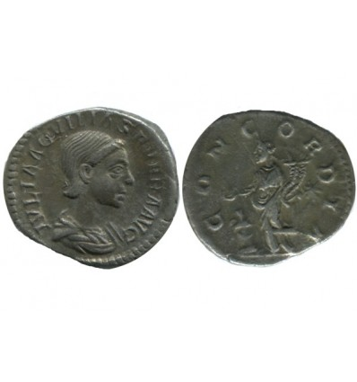Denier D'aquilia Severa Empire Romain