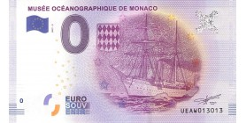 0 Euro Musée Océanographique de Monaco 2017