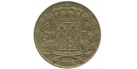 20 Francs Louis XVIII Buste Nu