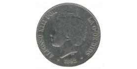 5 Pesetas Alphonse XIII Espagne Argent