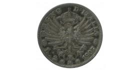2 Lires Victor Emmanuel III Italie Argent