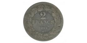 2 Francs Leopold Ier Belgique Argent