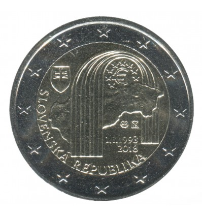 2 Euros Commemoratives Slovaquie 2018
