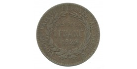1 Franc Martinique