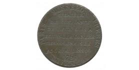 Monneron de 2 Sols - Liberté Assise - Médaille de Confiance Révolution