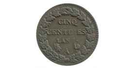 5 Centimes Dupre Directoire