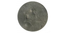 III Cents Etats-Unis Argent