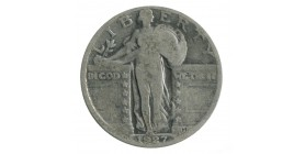 1/4 Dollar Liberté Etats-Unis Argent