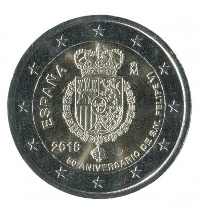 2 Euros Commemoratives Espagne 2018 - Felipe VI