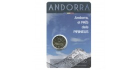 2 Euros Commemoratives Andorre 2017 - Pays des Pyrénées