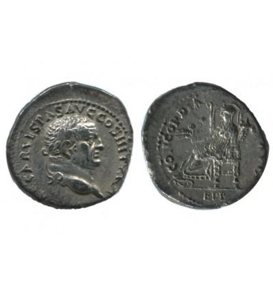 Denier de Vespasien Empire Romain