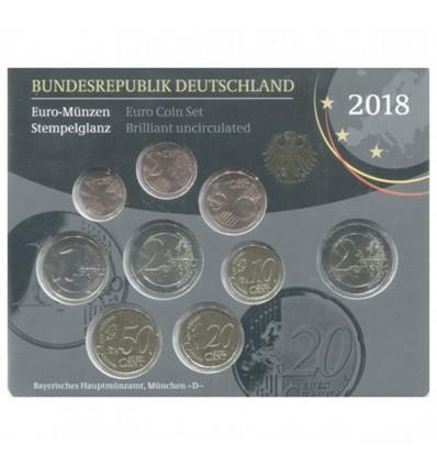 Série B.U. Allemagne 2018