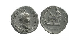 Denier de Vespasien Empire Romain