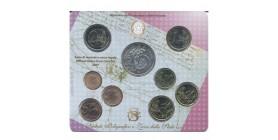 Série B.U. Italie 9 pièces 2007