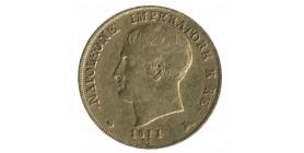 20 Lires Italie Occupation Française Napoléon Imperator