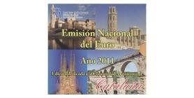 Série B.U. Espagne Catalogne 2011