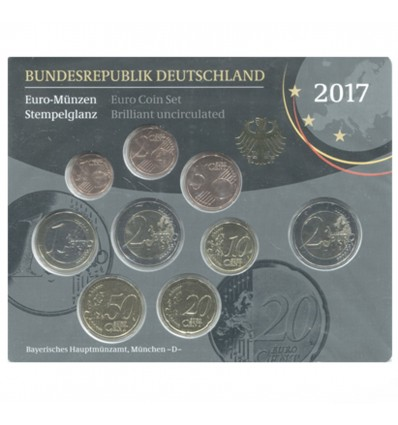 Série B.U. Allemagne 2017