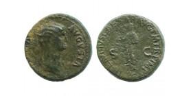 Dupondius d'Antonia empire romain