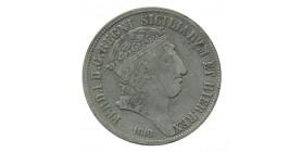 120 Grana Ferdinand Ier Italie Argent - Naples Sicile