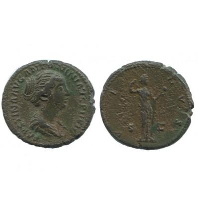 Dupondius de Faustine Jeune Empire Romain
