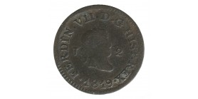 2 Maravedis Ferdinand VII Espagne