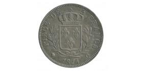 5 Francs Louis XVIII Buste Habillé