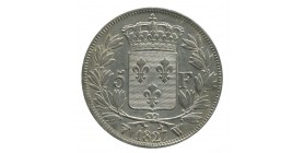5 Francs Charles X 2ème type